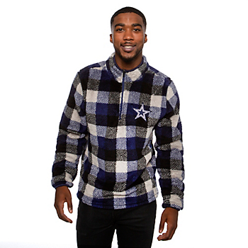 Dallas Cowboys Mens Amplitude Sherpa Pullover