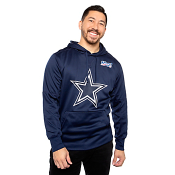 Dallas Cowboys Nike Mens NFL 100 Logo Circuit Hoodie