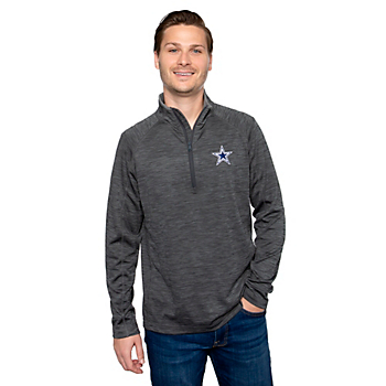 Dallas Cowboys Vineyard Vines Mens Sankaty Half-Zip Pullover