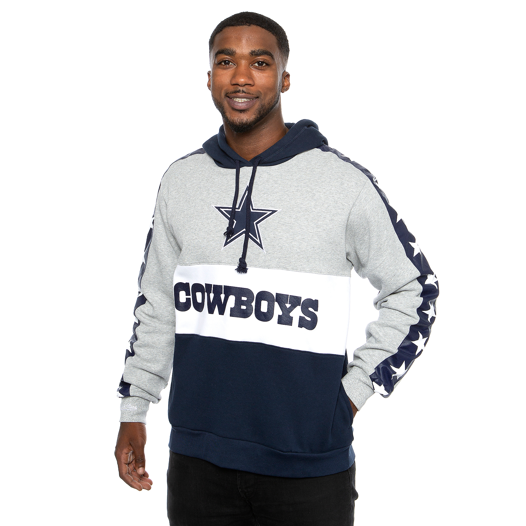 Dallas Cowboys Mitchell & Ness Mens Leading Scorer Hoodie