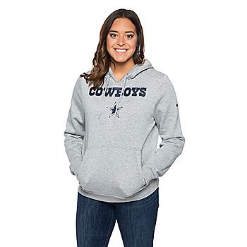 Dallas Cowboys Nike Womens Club Pullover Hoody