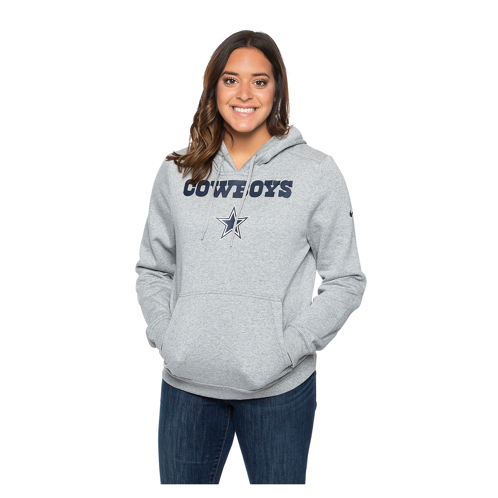 Dallas Cowboys Nike Womens Club Pullover Hoody