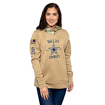 Dallas Cowboys Nike Womens Salute to Service Therma Hoodie