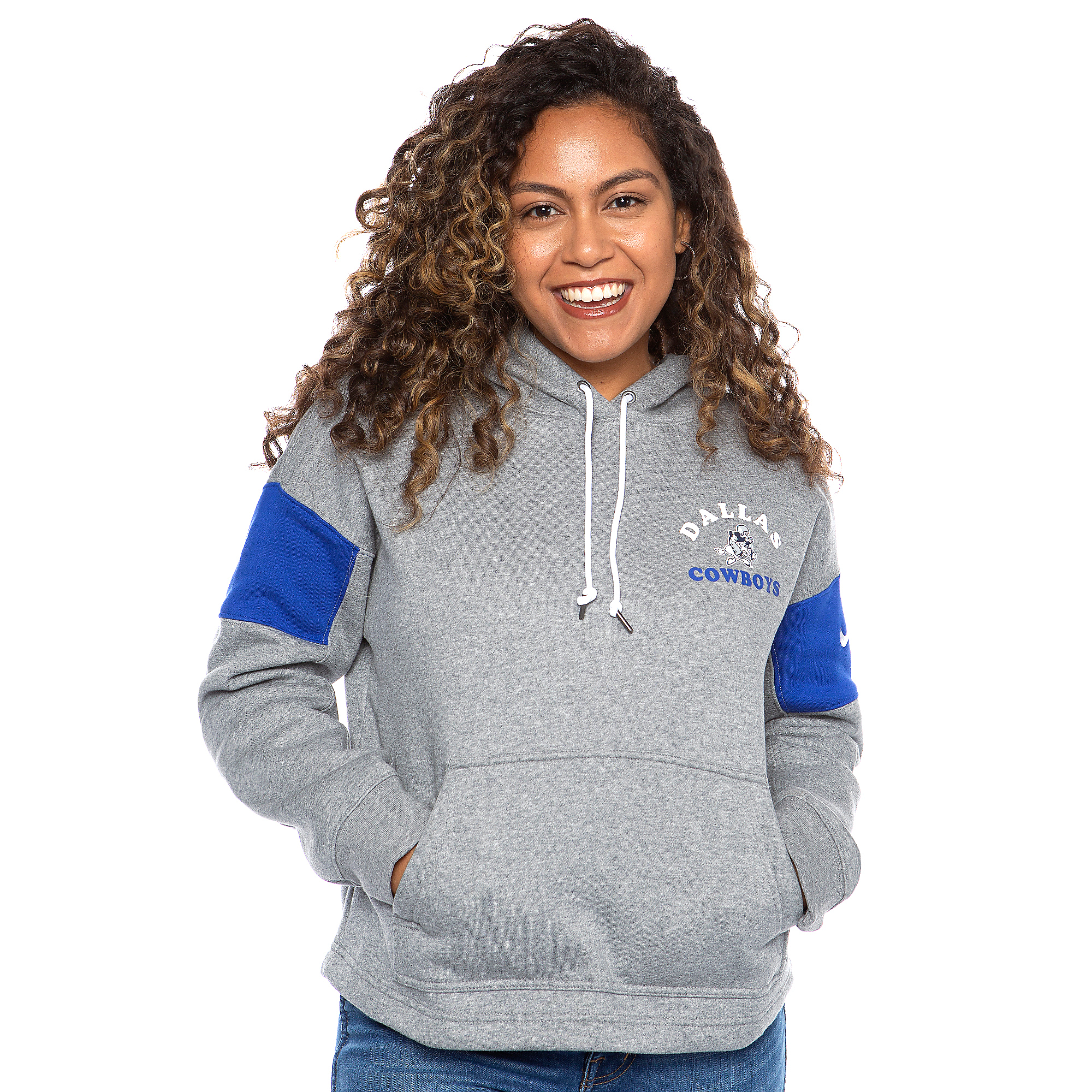 Dallas Cowboys Nike Womens Historic Pullover Hoodie