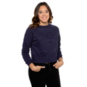 Dallas Cowboys Womens Scarlett Embossed Cropped Sweatshirt