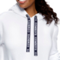 Dallas Cowboys WEAR By Erin Andrews Womens Logo Drawstring Pullover Hoodie