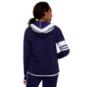 Dallas Cowboys WEAR By Erin Andrews Womens Logo Drawstring Full-Zip Hoodie