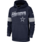 Dallas Cowboys Nike 100th Anniversary Youth Therma Pullover Hoody
