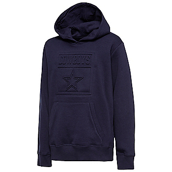 Dallas Cowboys Youth Gallino Embossed Hoodie