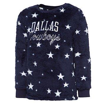 Dallas Cowboys Girls Maryn Sherpa Pullover