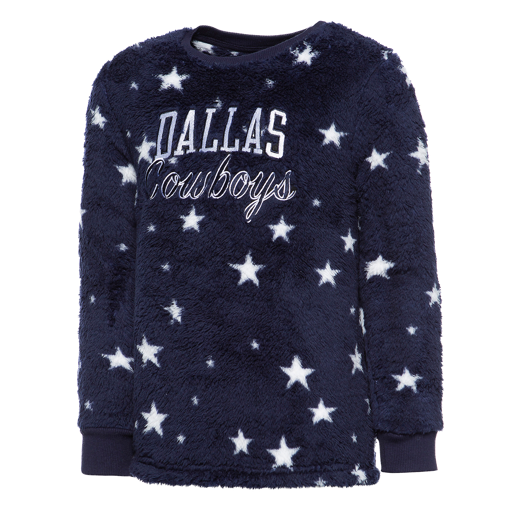 Dallas Cowboys Girls Maryn Sherpa Pullover