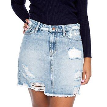 Dear John Kaylee Denim Skirt