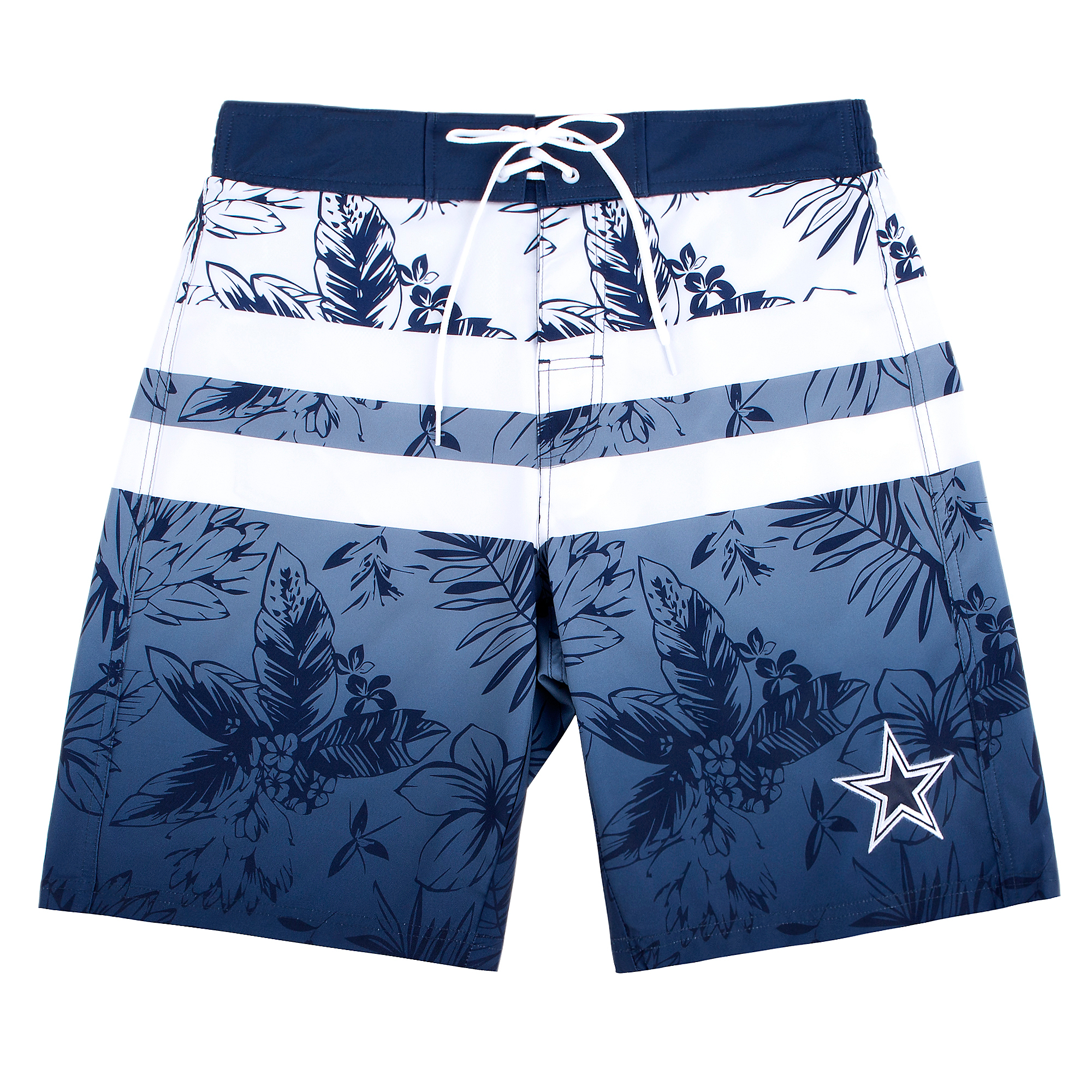 Dallas Cowboys Mens Free Style Swim Trunks