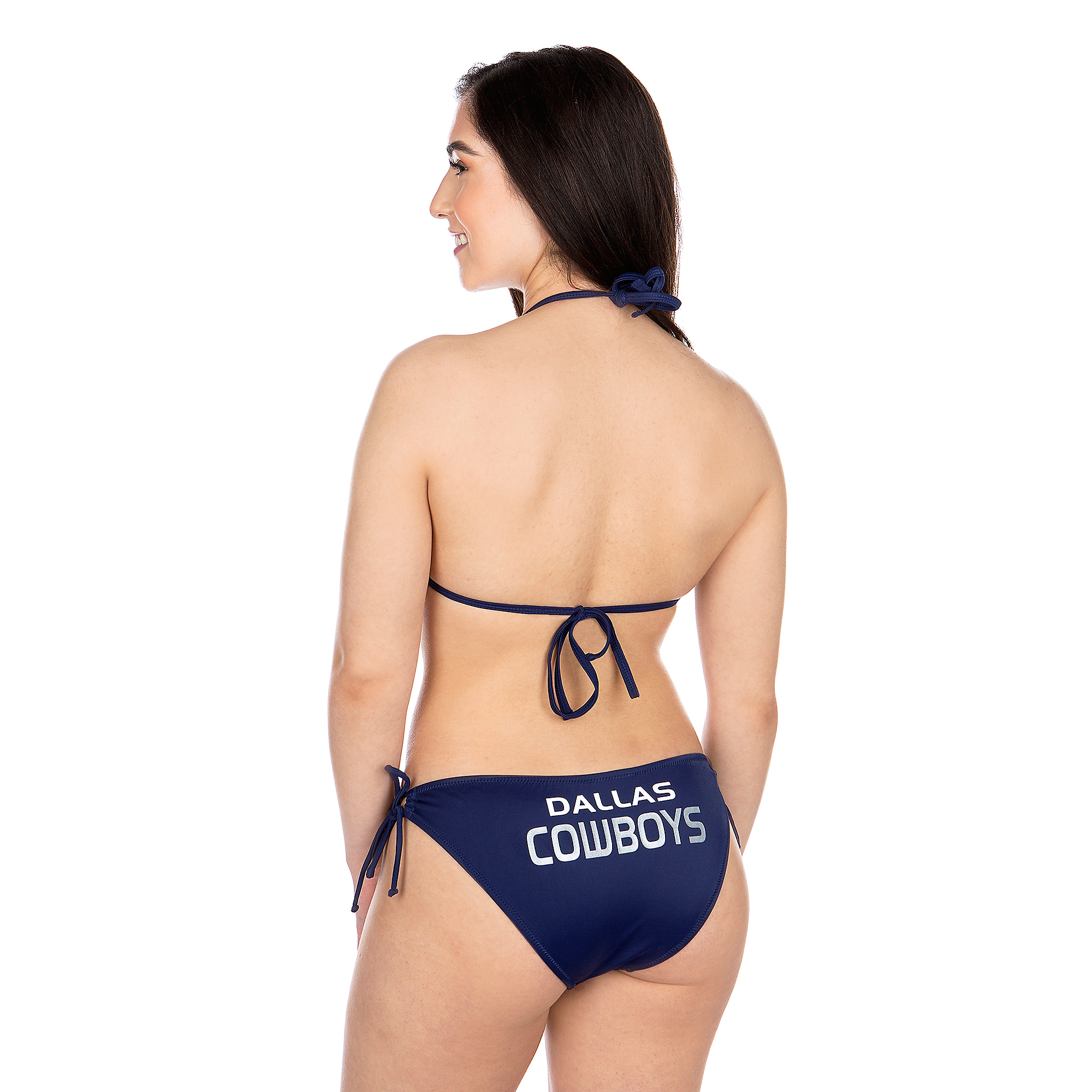 Dallas Cowboys Womens Breaking Waves Bikini Bottom