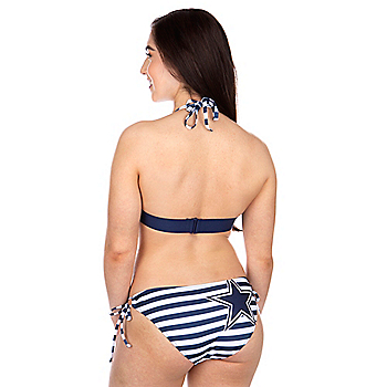 Dallas Cowboys Womens Strike Out Bikini Bottom