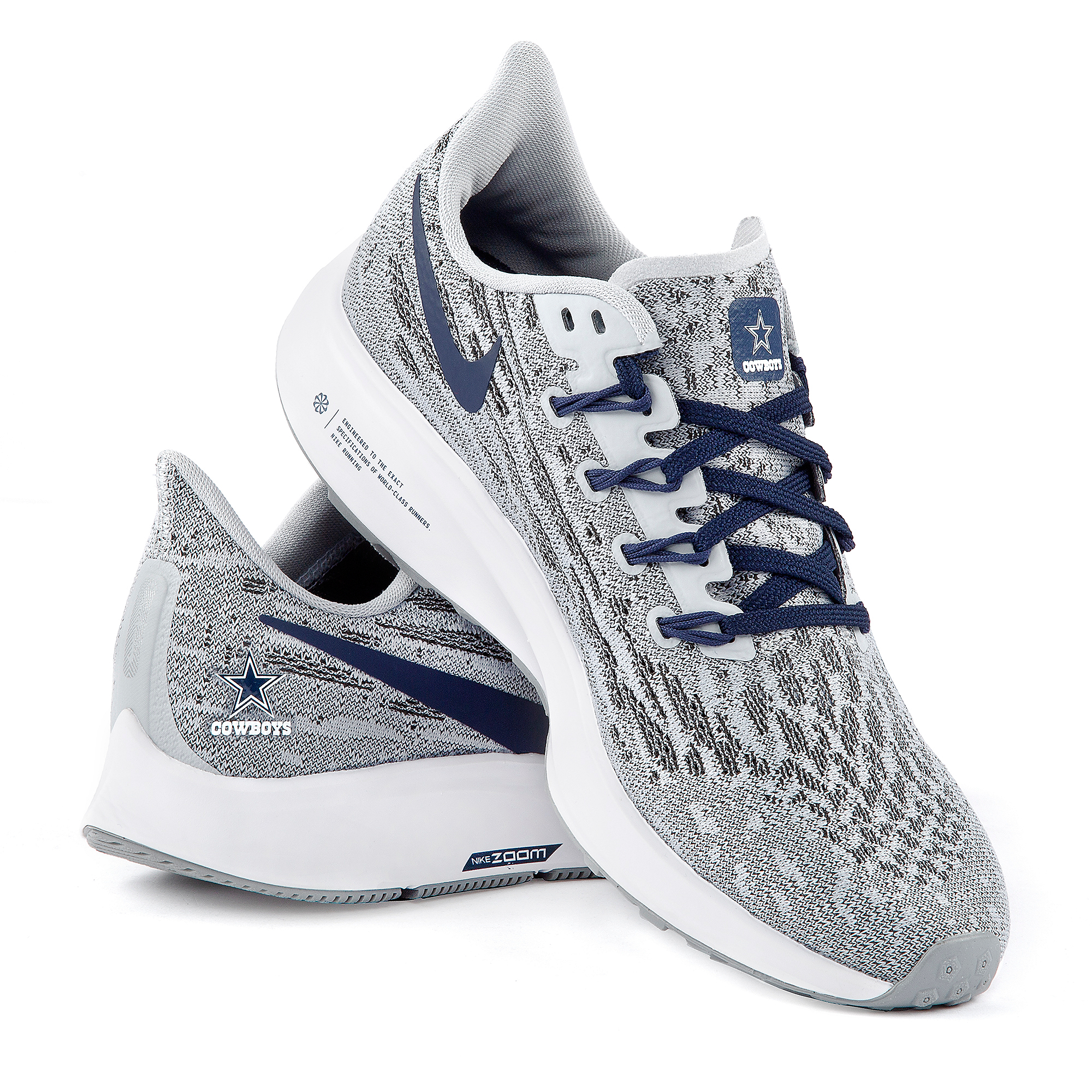 Dallas Cowboys Womens Nike Air Zoom Pegasus 36 Running Shoe