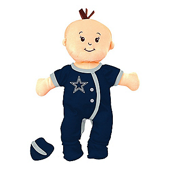 Dallas Cowboys Wee Baby Team Doll