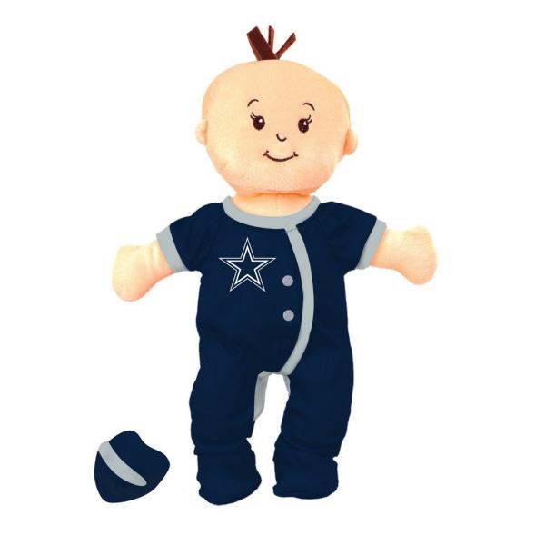 Dallas Cowboys Wee Baby Team Doll