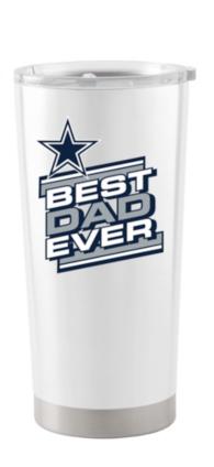 Dallas Cowboys 20oz Father's Day White Ultra Tumbler