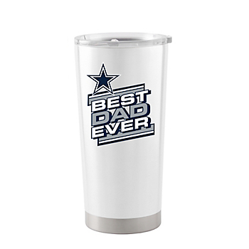 Dallas Cowboys 20oz Father's Day White Ultra Tumbler
