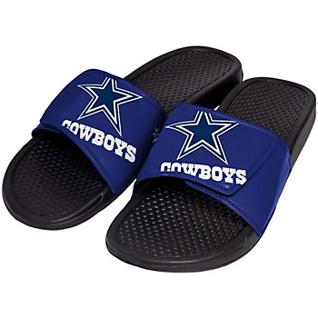 Dallas Cowboys Mens Cropped Logo Slides