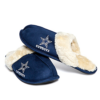 Dallas Cowboys Women's Mule Slide Slippers