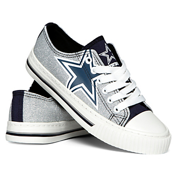 Dallas Cowboys Women's Glitter Shoes