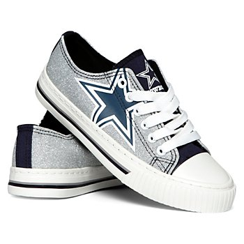 Dallas Cowboys Women's Glitter Shoes