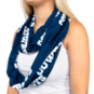 Dallas Cowboys Womens Zipper Infinity Scarf