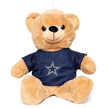 "Dallas Cowboys 16"" Plush Bear"