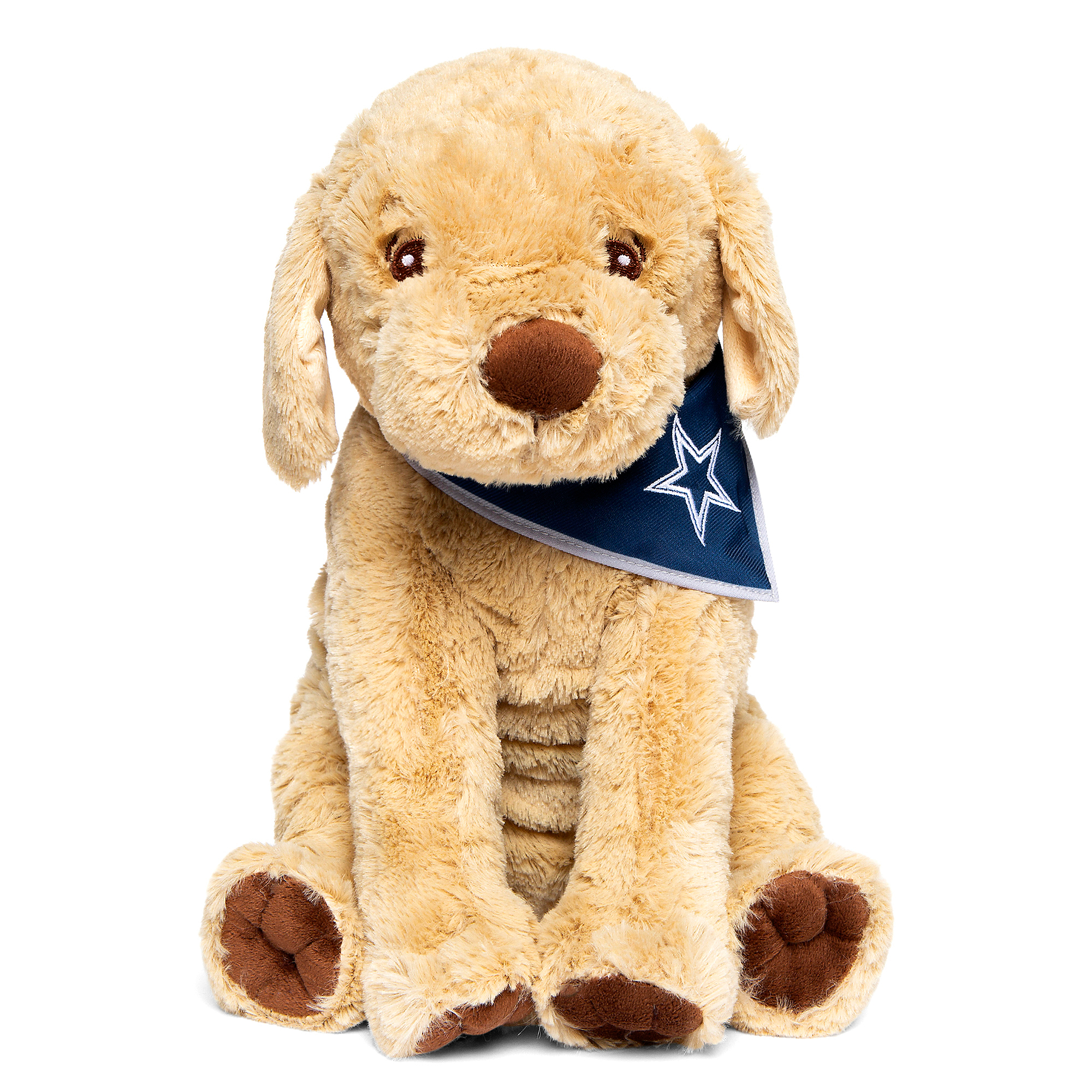 "Dallas Cowboys 11.5"" Bandanna Puppy"