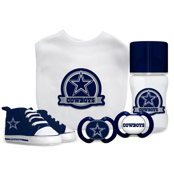 Dallas Cowboys 5-Piece Baby Gift Set