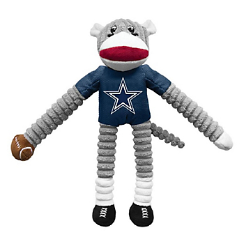 Dallas Cowboys Sock Monkey Pet Toy