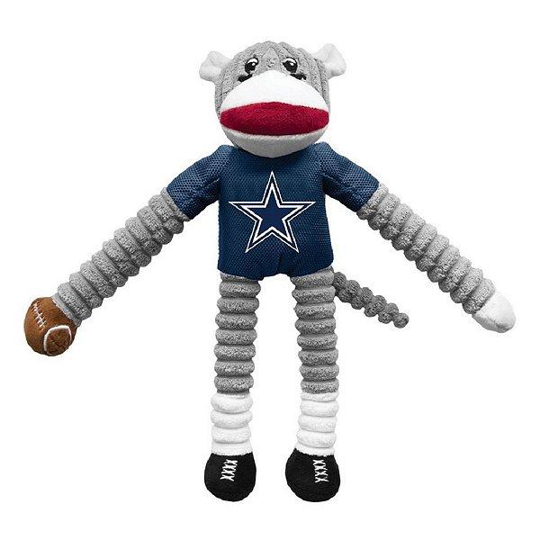 Dallas Cowboys Sock Monkey Pet Toy