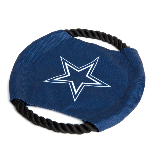 Dallas Cowboys Rope Frisbee Dog Toy