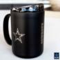 Dallas Cowboys 15oz Powder Coat Mug