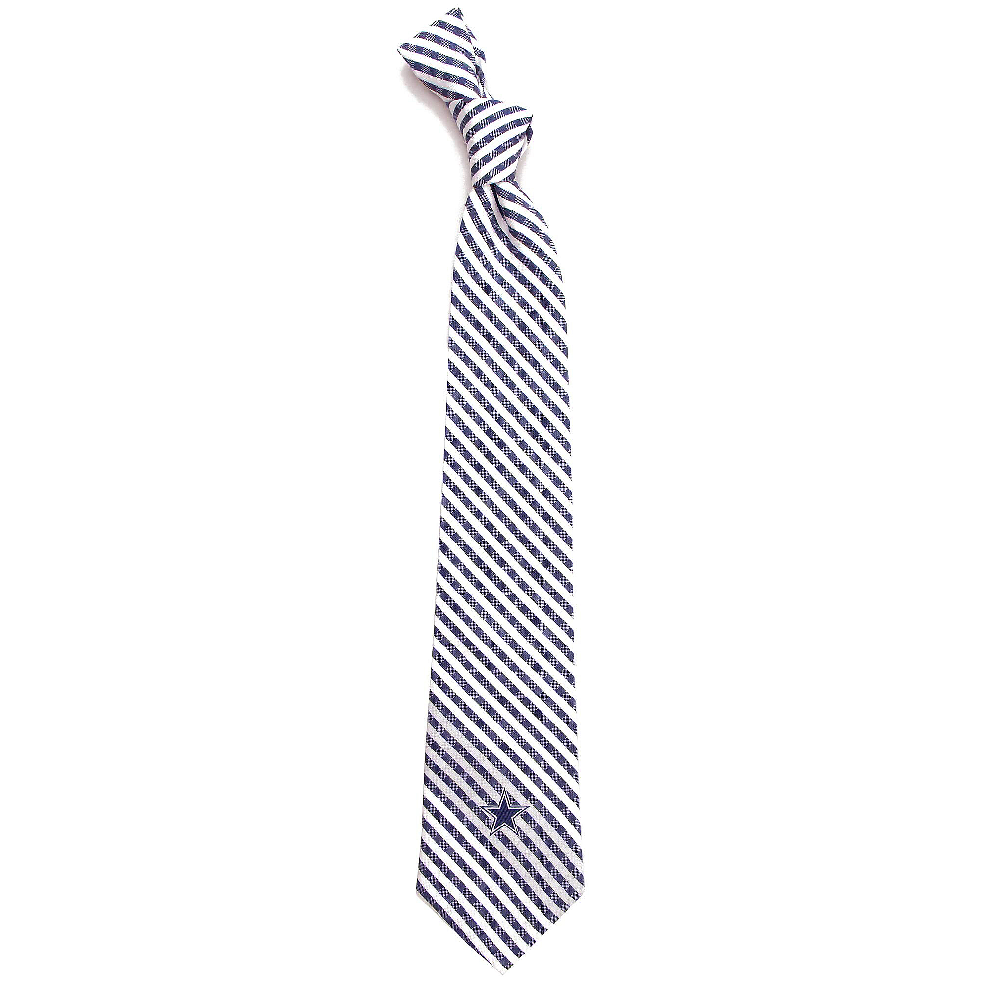 Dallas Cowboys Gingham Neck Tie