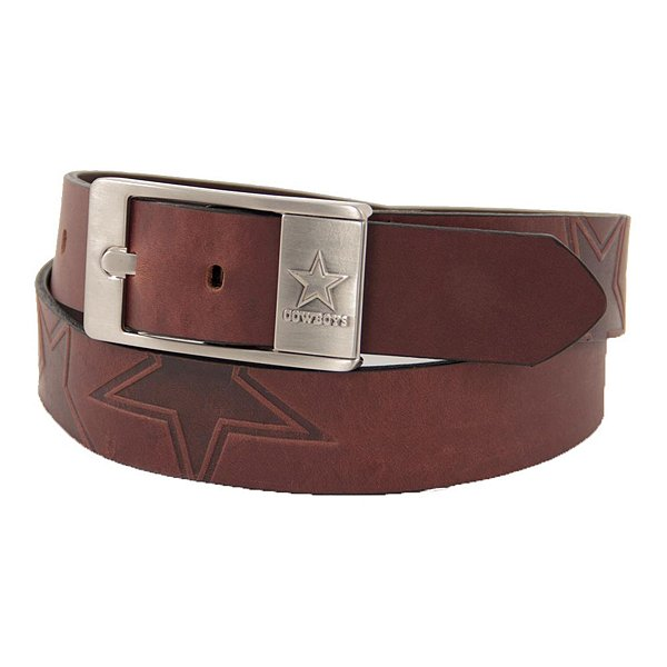Dallas Cowboys Embossed Leather Belt