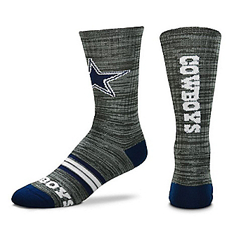 Dallas Cowboys Quad Heathered Sock