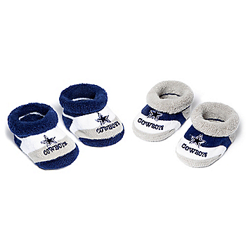 Dallas Cowboys Baby Pro Stripe 2 Pack Sock Set