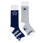 Dallas Cowboys Shh Mismatch Socks
