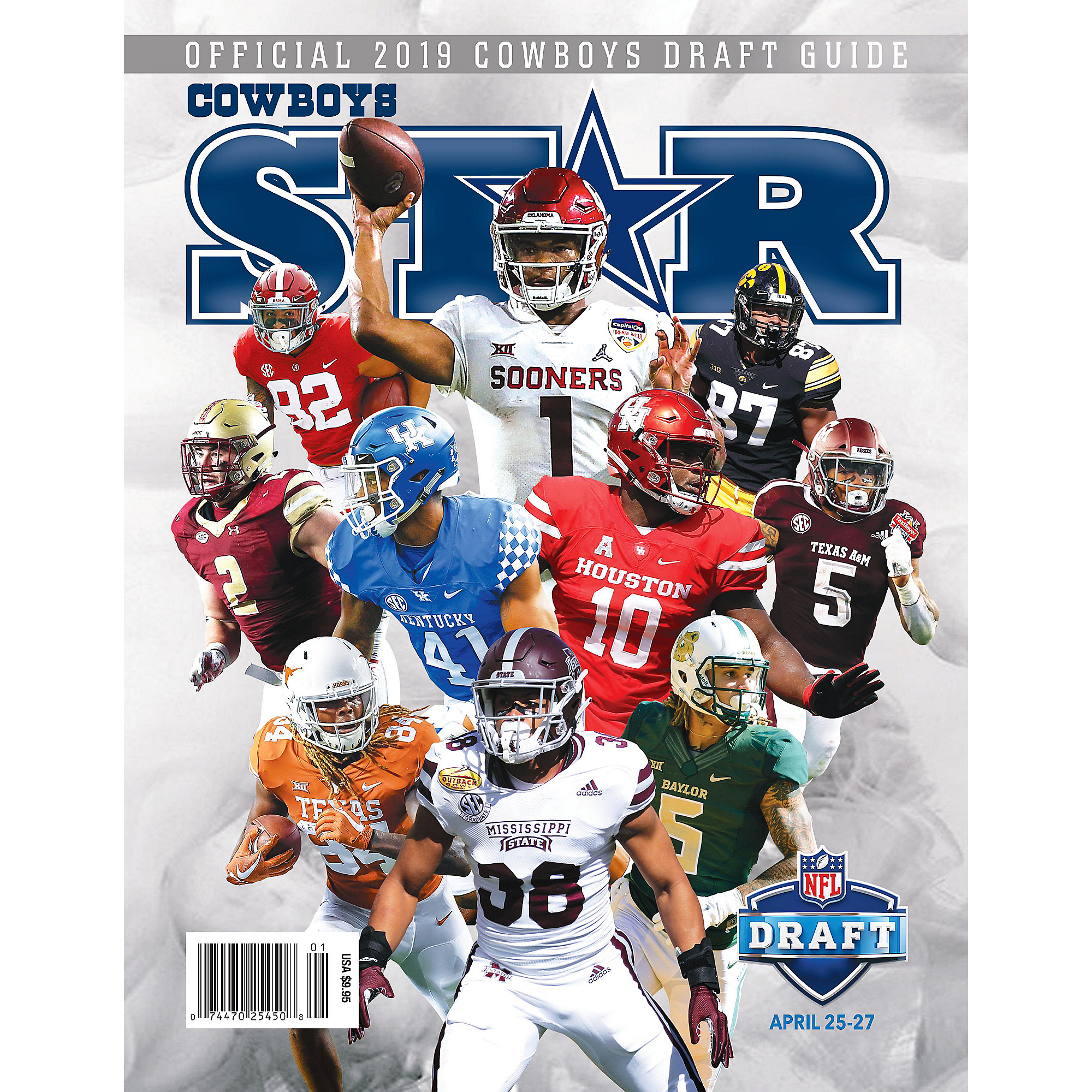 buy online 498e6 c054b Dallas Cowboys Star Magazine Draft Preview 2019 Issue   Dallas Cowboys Pro  Shop
