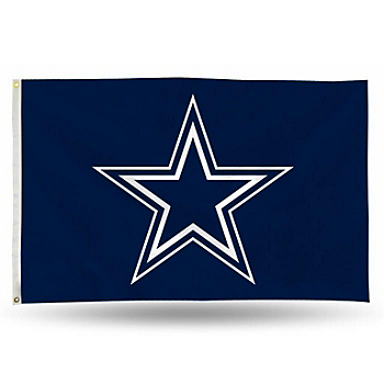 Dallas Cowboys 3x5 Star Banner Flag