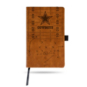 Dallas Cowboys Laser Etched Leatherbound Journal