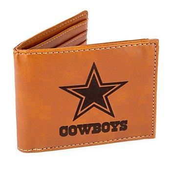 Dallas Cowboys Laser Engraved Bi-fold Wallet