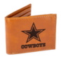 Dallas Cowboys Laser Engraved Bi-fold Wallet