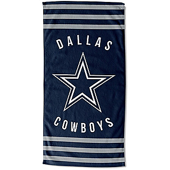 Dallas Cowboys 30 x 60 Striped Beach Towel