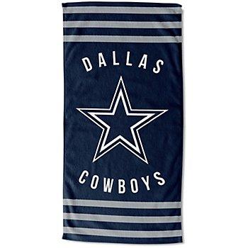 Dallas Cowboys 30 x 60 Striped Beach Towel