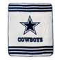 Dallas Cowboys Striped Blanket