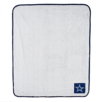 Dallas Cowboys Two Tone Sherpa Blanket